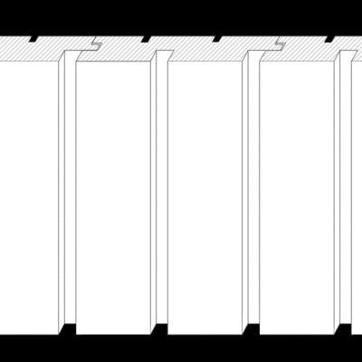 Doppelrhomboid vertikal