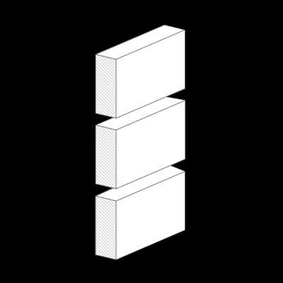 Rhomboid horizontal