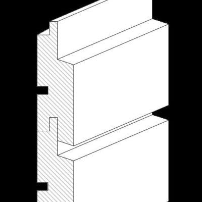 Rhomboid Smart horizontal